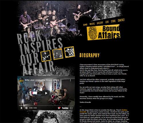 BOUND AFFAIRS - Ροκ συγκρότημα